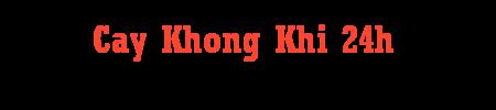 Cay Khong Khi 24h
